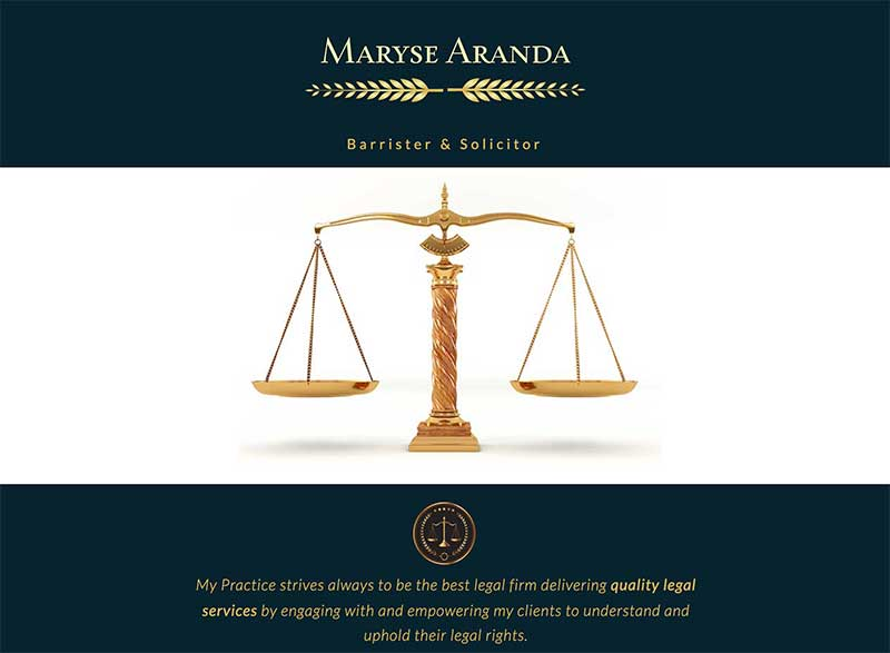 Maryse Aranda Barrister and Solicitor