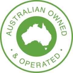 Australian Owned and Operated Badge
